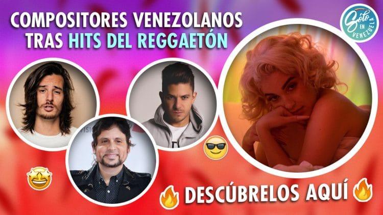 compositores venezolanos de reggaetón