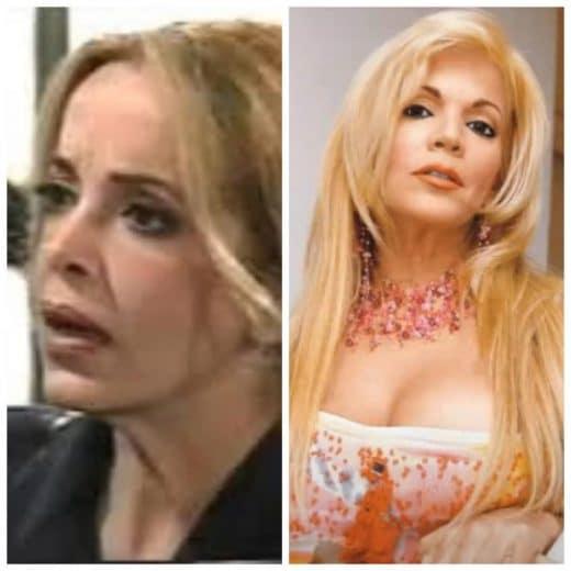 Marita Capote antes y después