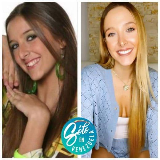Rosángelica Piscitelli antes y después