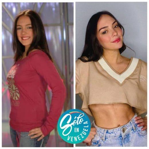 Vanessa Suárez antes y después