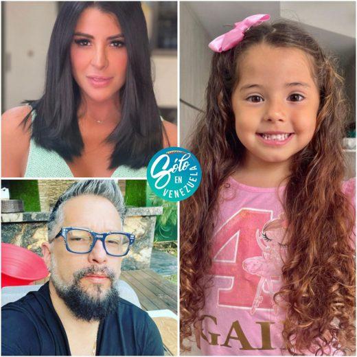 famosos de la farándula venezolana y sus hijos