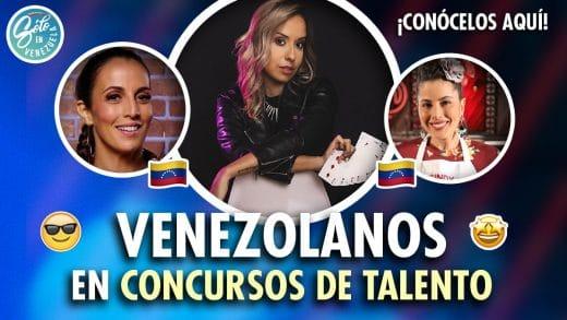 venezolanos en concursos de talento
