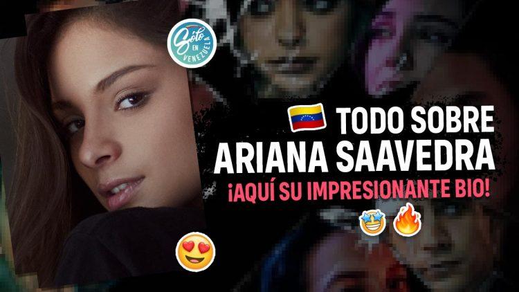 Ariana Saavedra venezolana