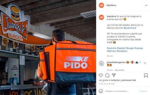 Empresas delivery en Venezuela