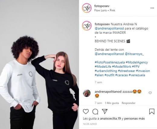 Agencias de modelos en Venezuela