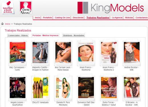 Agencias de modelaje en Caracas