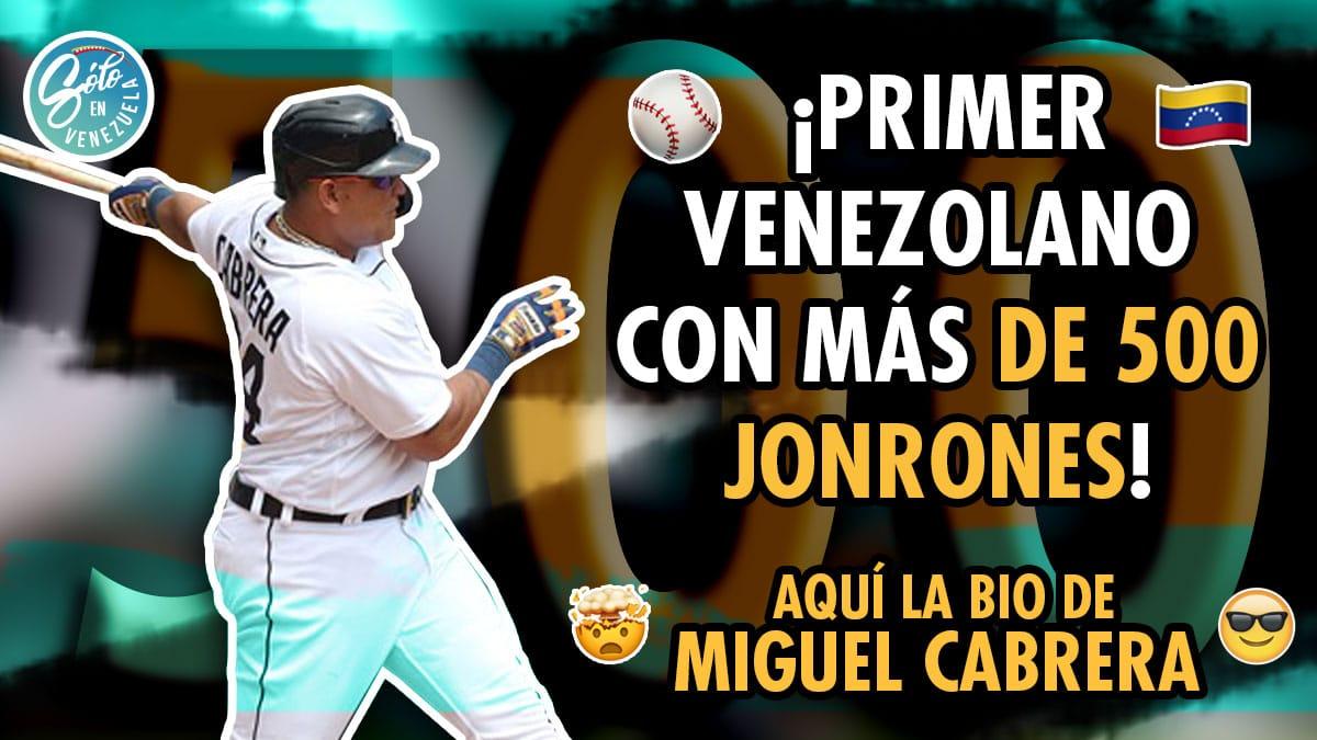 Miguel Cabrera beisbolista venezolano