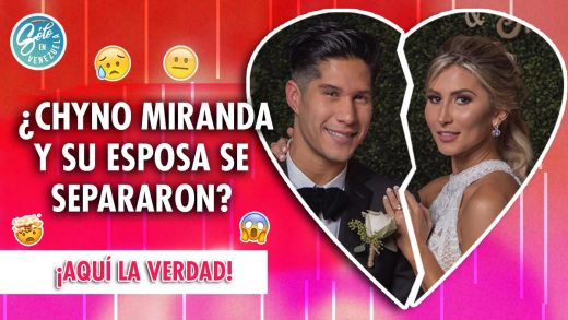 Chyno Miranda y su esposa