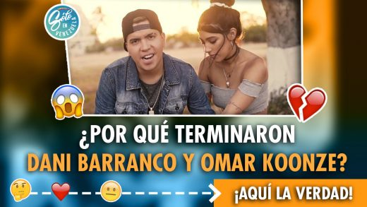 Omar Koonze y Daniela Barranco separados