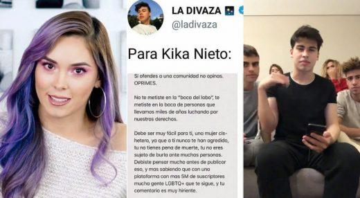 Pelea de Kika Nieto y Clan Divaza