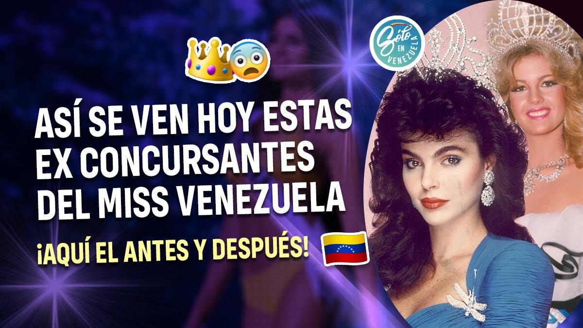 Ex concursantes del Miss Venezuela